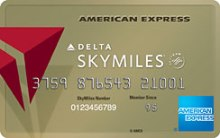 Delta American Express Gold card