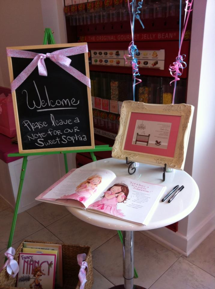 a book is a great guest book for a baby shower