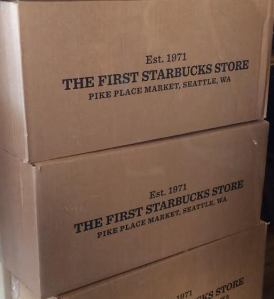 Original Starbucks cafe