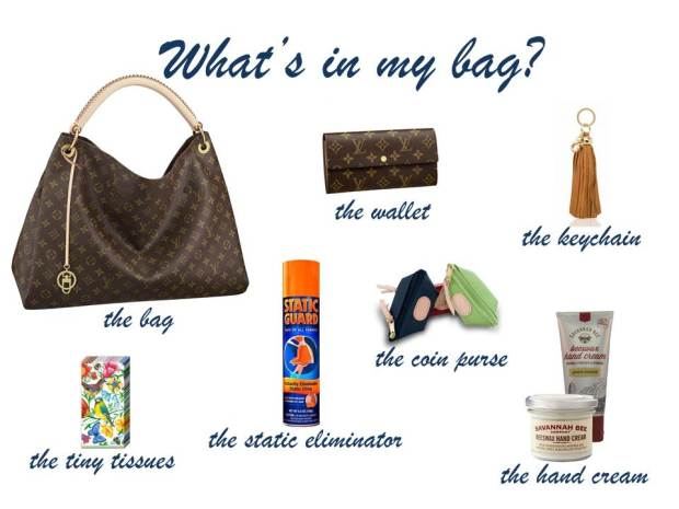 What's in my bag.2