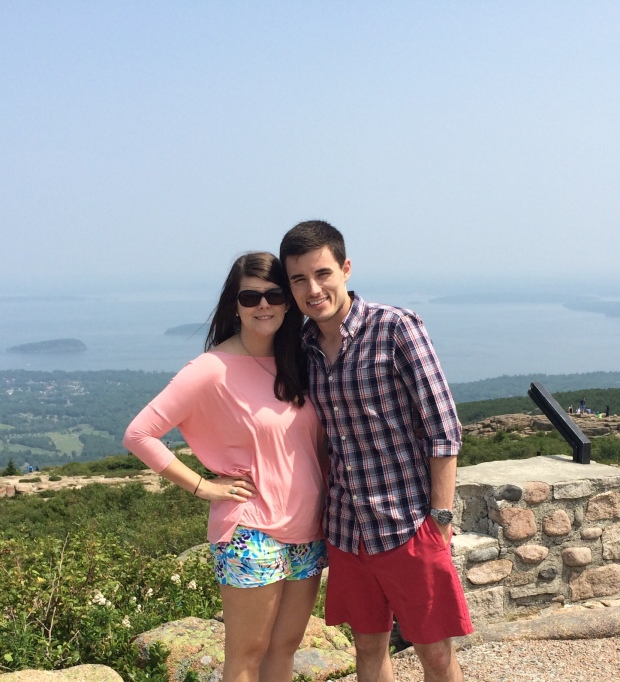 On top of Cadillac Mountain