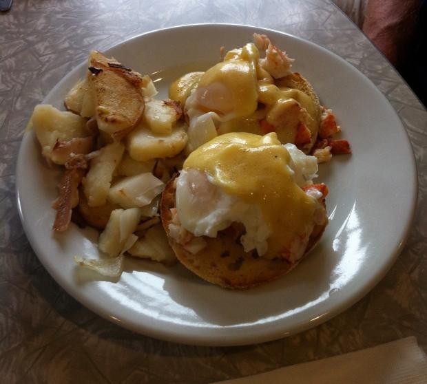 Lobster Eggs Benedict at Millbrook