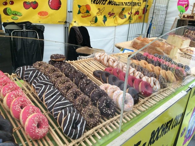 Donuts in the Latin Quarter