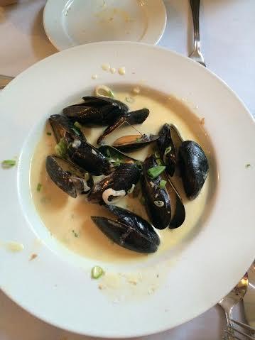 Mussels at The Brooklin Inn