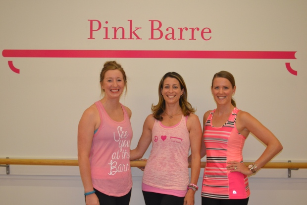 Peachtree Roadies and Pink Barre's Owner Tara! Image via Peachtree Roadies