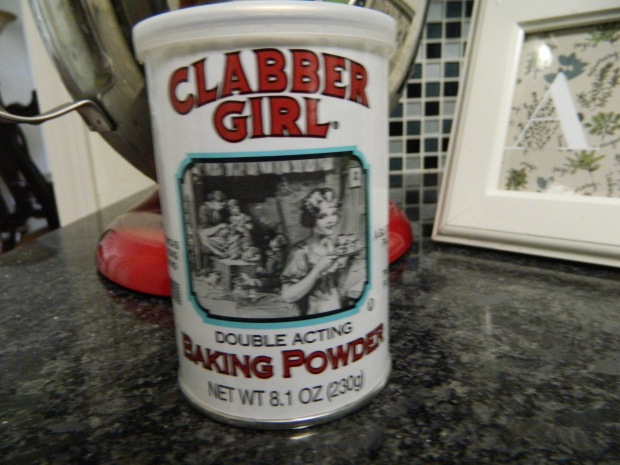 My favorite baking powder is Clabber Girl. I pick mine up at Target.