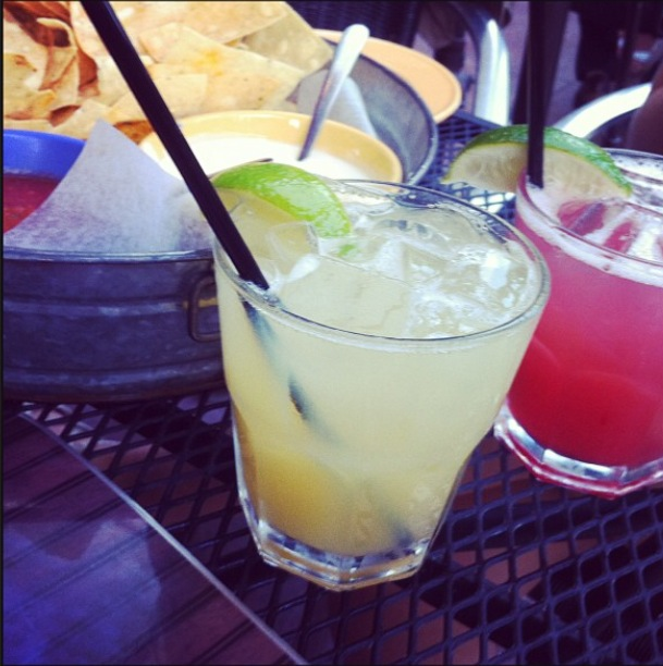 Margs and a Trio from Tin Lizzy's Cantina