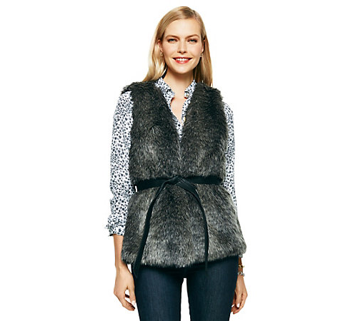 Who doesn't need a good faux fur?