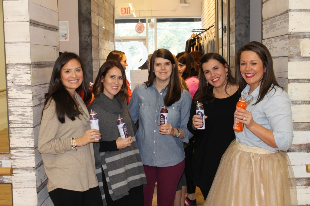 The ladies of Supper Club of the South love Suja Juices!