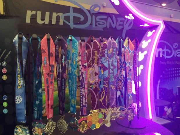 Disney Medals for 2015